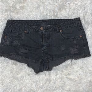 H&M dark grey/ black shorts
